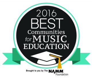 NAMM 2016 Best Communities for Music Education