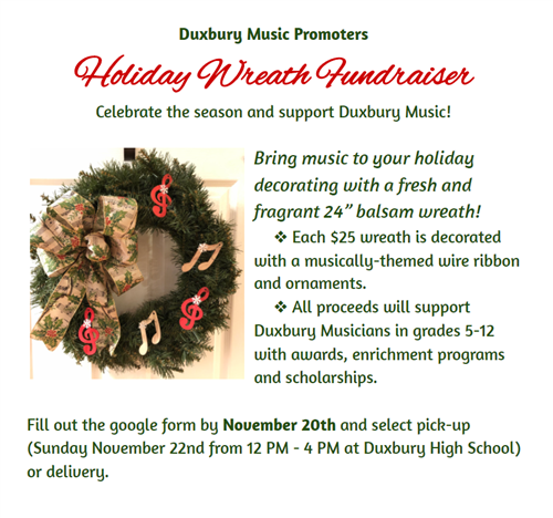 Holiday Wreath Fundraiser