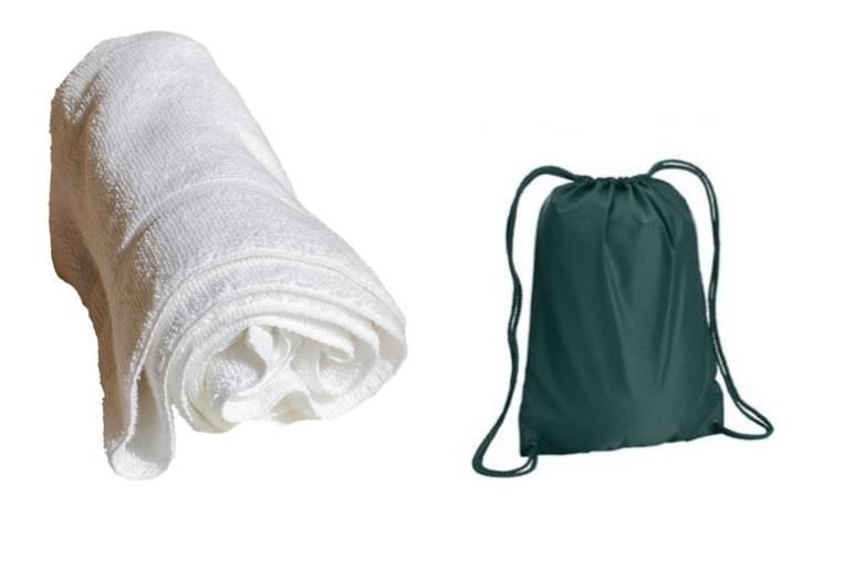 DUXBURY Swim Bags and Towels on sale now!