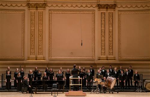 Chamber Singers at Carnegie Hall - February 2018