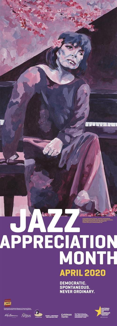 Jazz Appreciation Month 2020 Poster