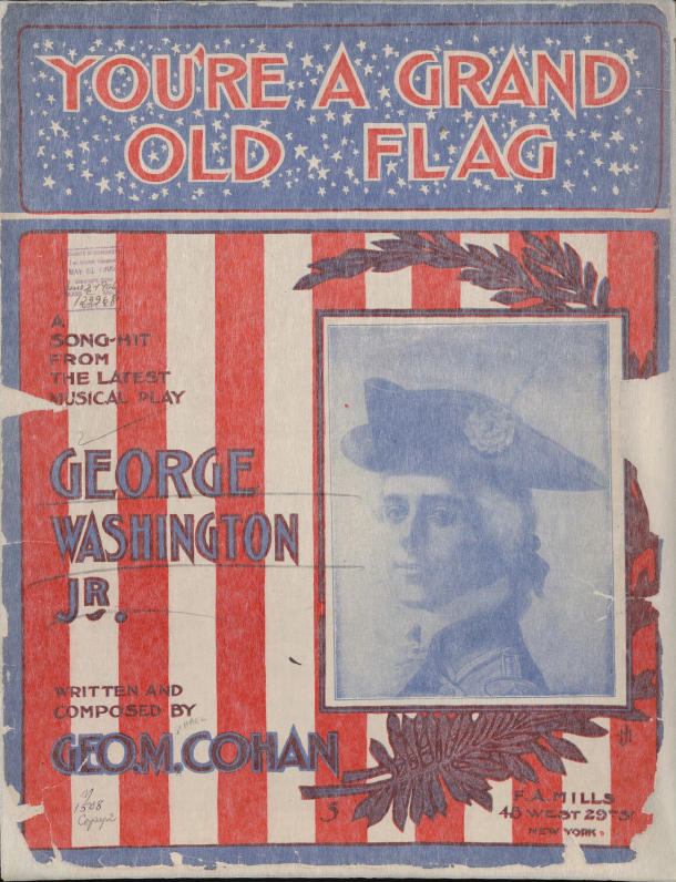 You're A Grand Old Flag- sheet music cover