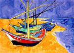 Fishing Boats-Van Gogh
