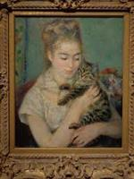Renoir-Woman with a Cat