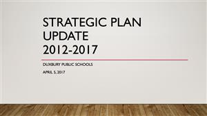 Strategic Plan Update 2012-2017