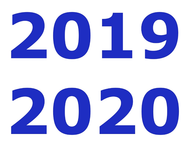 Important Dates for 2019-2020 School Year