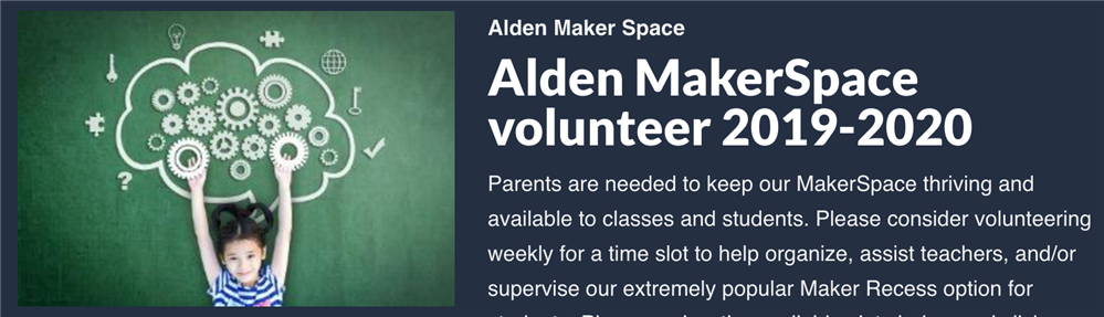 Sign up to Volunteer in the Makerspace