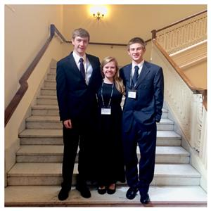 Olaf, Emily, and Eric All-State