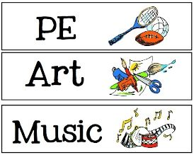 Elementary Education music subjects including