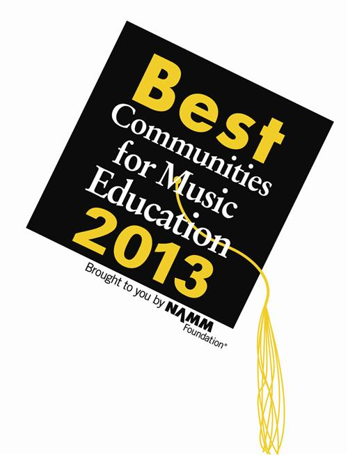 2013 Best Communites for Music Education Logo